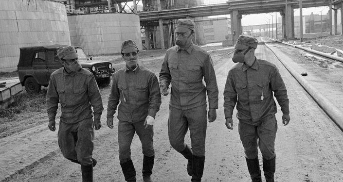 チェルノブイリ原発事故処理作業