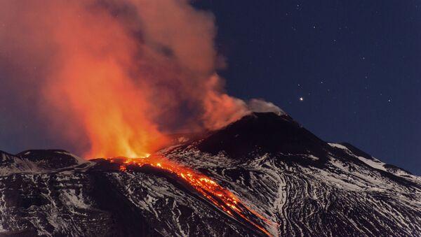 シチリアのエトナ火山 - Sputnik 日本