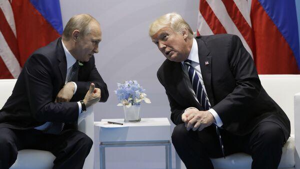 プーチン氏、トランプ氏との会話の印象を明かす - Sputnik 日本