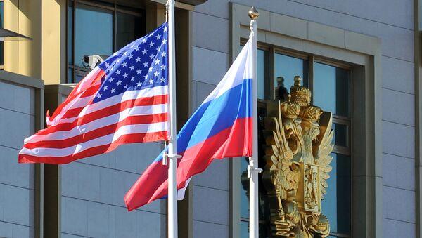 ロシア・米国の旗 - Sputnik 日本
