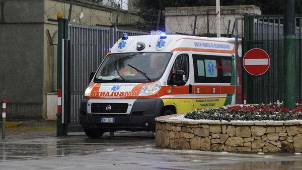 イタリアの救助車 - Sputnik 日本