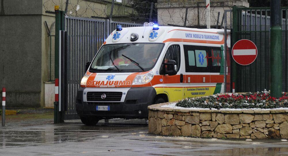 イタリアの救助車