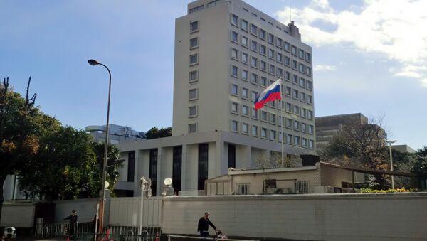 東京にあるロシア大使館 - Sputnik 日本