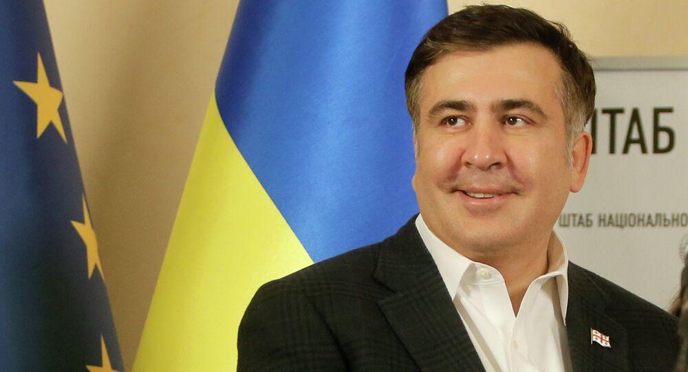 グルジアでサアカシュヴィリ前大統領が逮捕