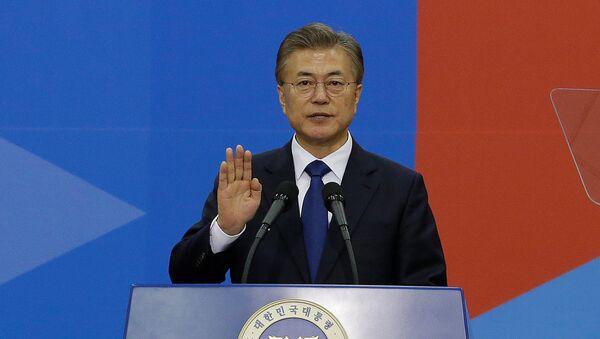韓国の文在寅(ムン・ジェイン)大統領 - Sputnik 日本