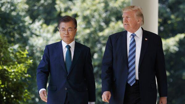 トランプ大統領と文在寅大統領(アーカイブ) - Sputnik 日本