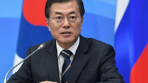 韓国大統領、プーチン大統領と電話会談 南北首脳会談を協議 - Sputnik 日本