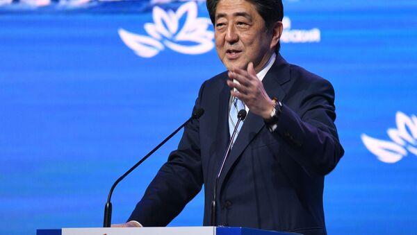安倍首相、日露間に平和条約がない状態を修正するようプーチン大統領に呼びかける - Sputnik 日本