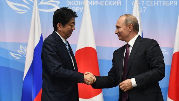安倍氏とプーチン氏 - Sputnik 日本