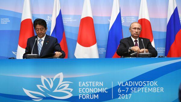 プーチン・安倍両氏 北朝鮮のミサイル・核実験を非難 - Sputnik 日本
