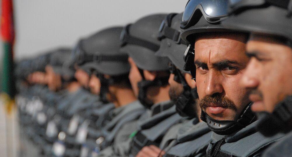 アフガンの警察