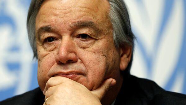 Antonio Guterres, el ex alto comisionado de Naciones Unidos para los refugiados - Sputnik 日本