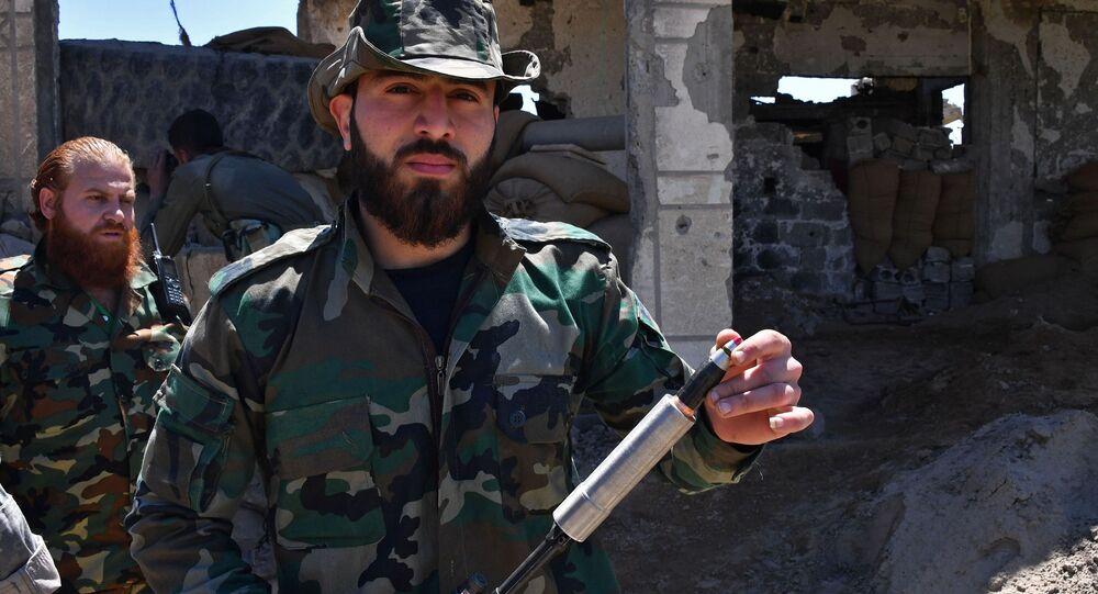 国連調査団、アサド政権がサリン使用と認定 シリア
