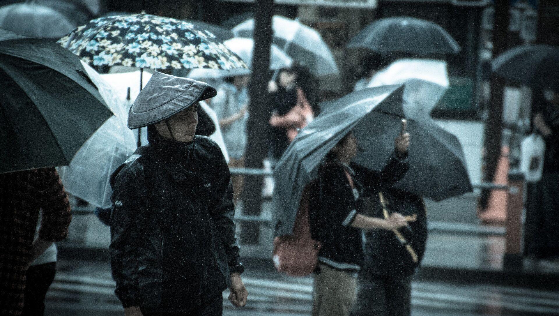 大雨 - Sputnik 日本, 1920, 03.07.2021