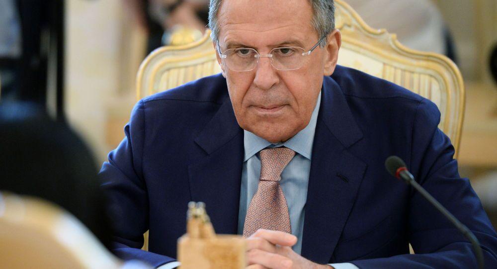 ロシアのラヴロフ外相