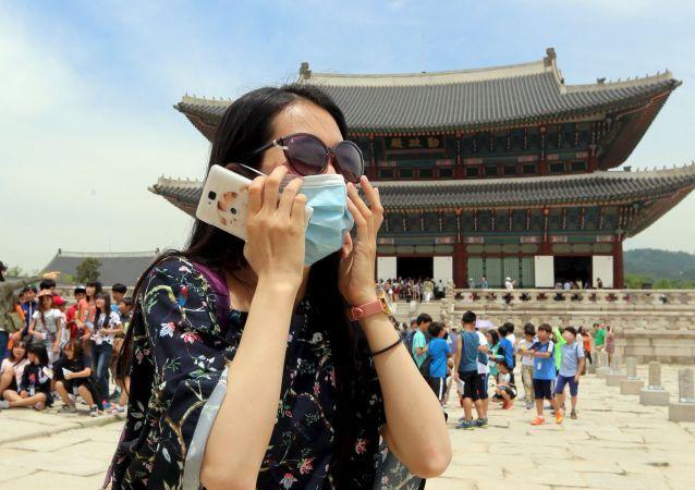ワクチン接種済みの観光客