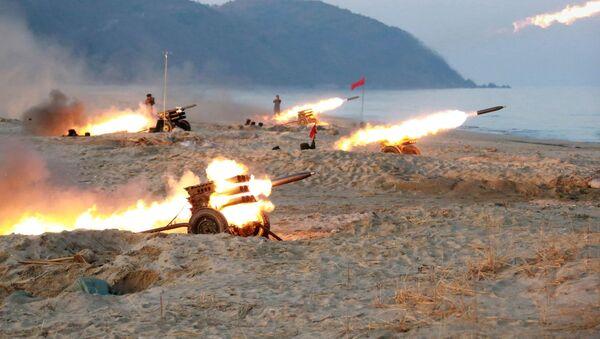 米国・北朝鮮衝突の可能性50% 1年以内 英分析 - Sputnik 日本