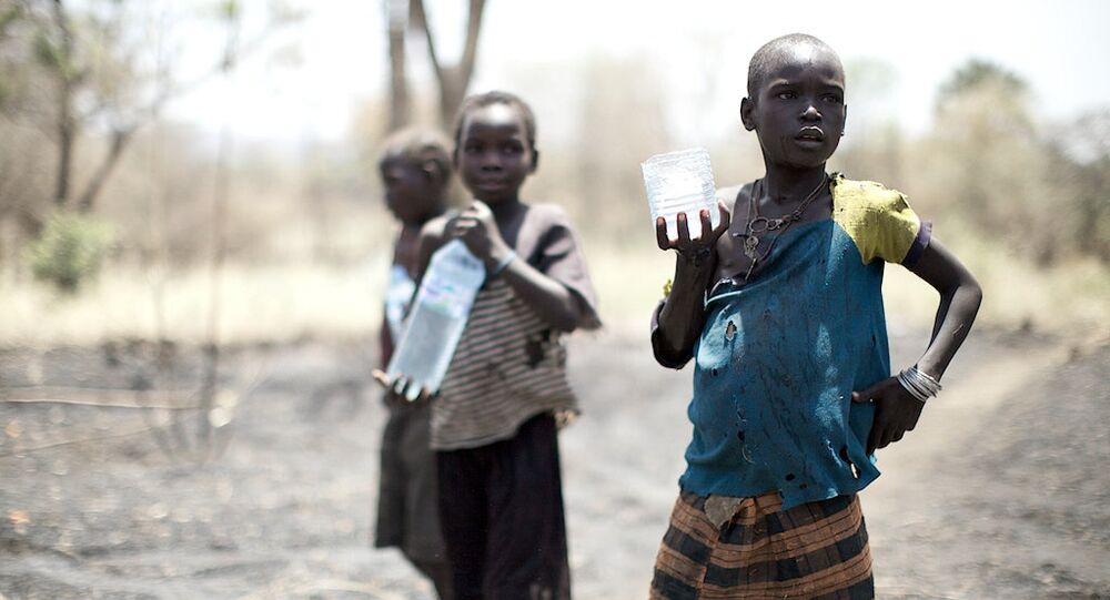 アフリカ(アーカイブ写真)
