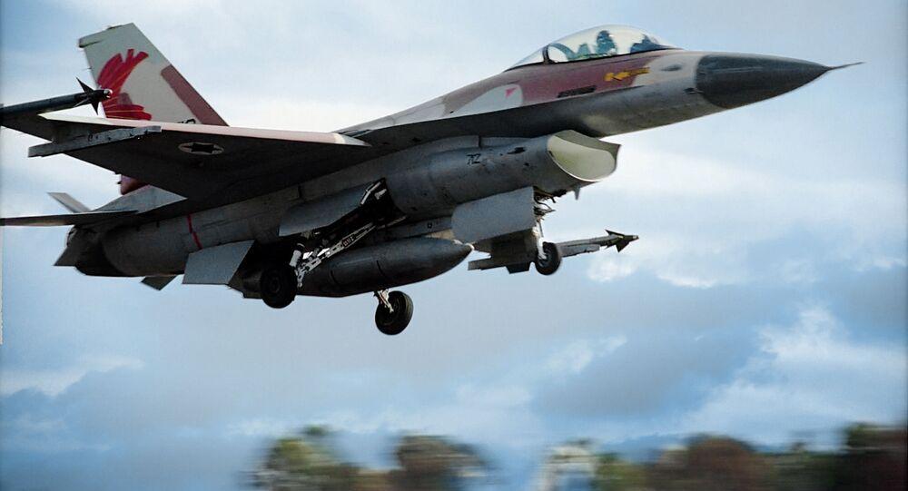 イスラエルの戦闘機