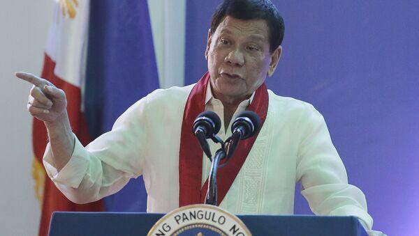 フィリピンのドゥテルテ大統領 - Sputnik 日本