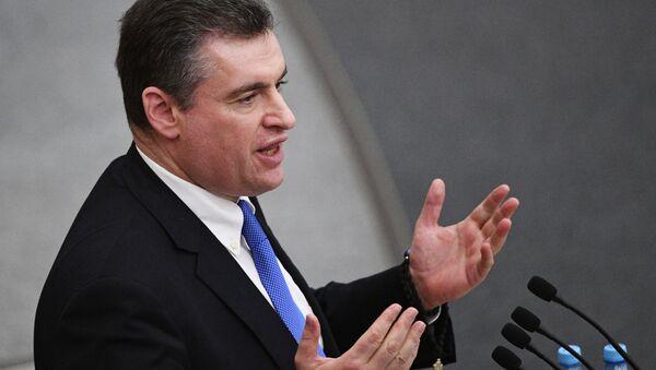 ロシア下院外交委員会のスルツキー委員長 - Sputnik 日本