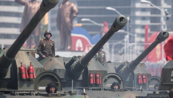 北朝鮮、規模大きい軍事パレードを準備ー38ノース分析 - Sputnik 日本