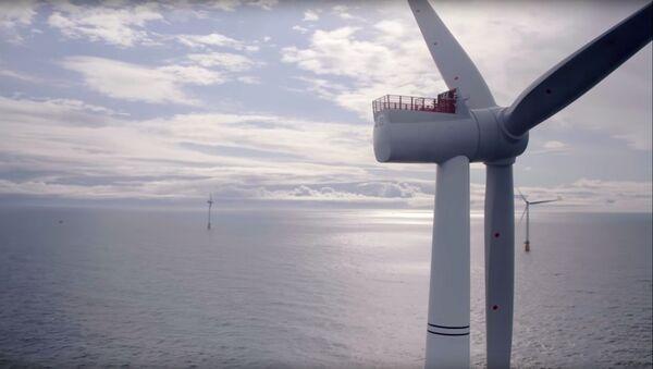 スコットランド沖で世界最大規模の浮体式洋上風力発電所が運転開始 - Sputnik 日本