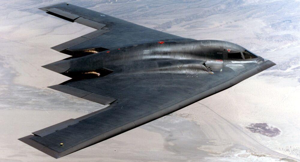 B-2 スピリット航空機
