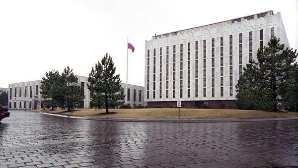 米ワシントンにあるロシア大使館 - Sputnik 日本