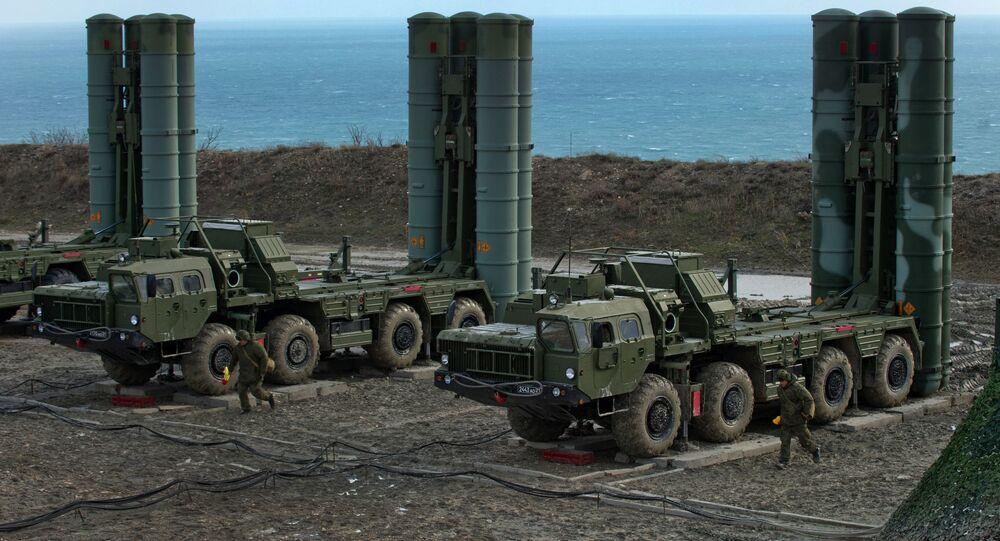 S-400 regiment enters on duty in Crimea