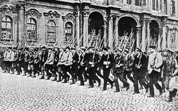 1917年ペトログラード 赤軍部隊 - Sputnik 日本