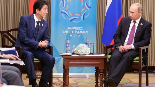 安倍首相とプーチン大統領はAPECの場で何を協議したのか? - Sputnik 日本