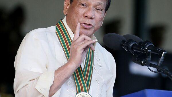 Президент Филиппин Родриго Дутерте - Sputnik 日本