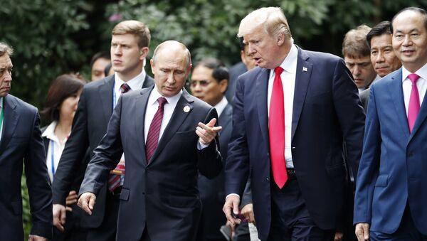 プーチン氏、トランプ氏 - Sputnik 日本
