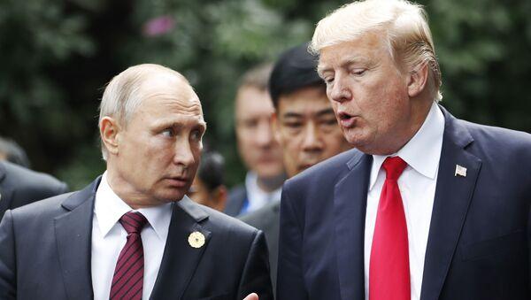プーチン氏とトランプ氏 - Sputnik 日本