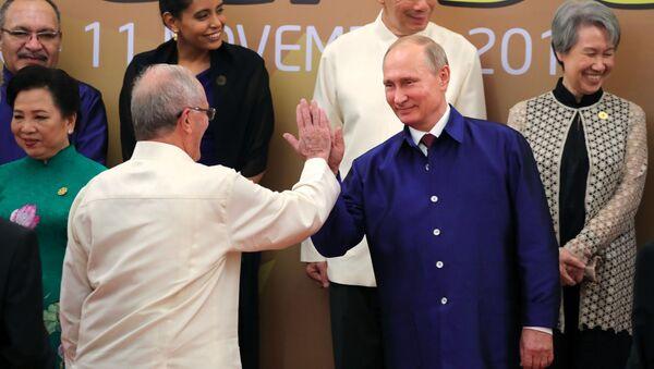 プーチン大統領とペルーのクチンスキ大統領 - Sputnik 日本