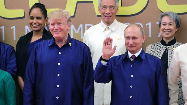 トランプ氏とプーチン氏 - Sputnik 日本