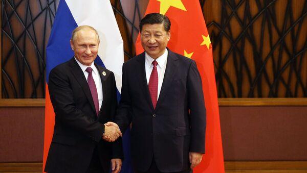 プーチン氏と習近平氏 - Sputnik 日本