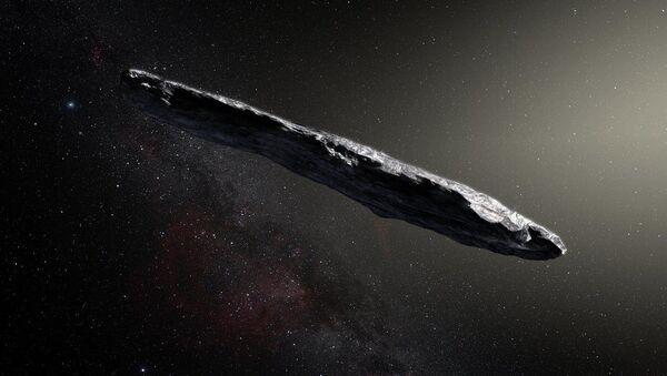 かつて見たことのない形の小惑星が太陽系に飛来 - Sputnik 日本