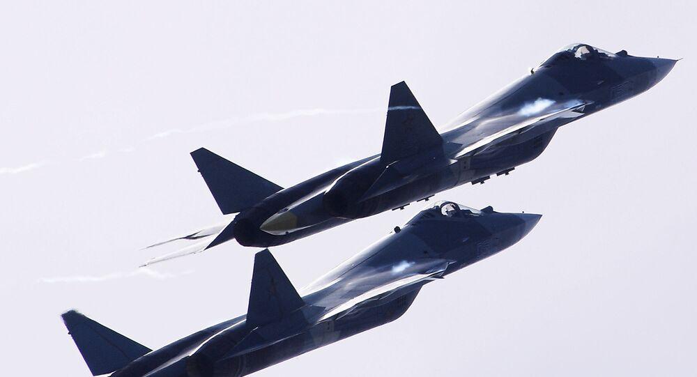 ロシア 最新鋭の戦闘機Su-57をシリアへ 目的は実戦条件のテスト
