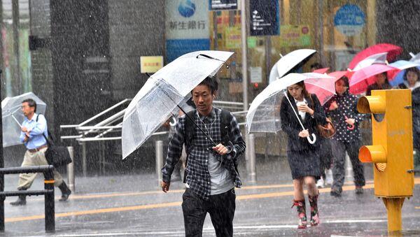 日本南部に強力な台風11号接近 - Sputnik 日本