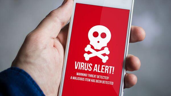 スマートフォンでウイルス - Sputnik 日本