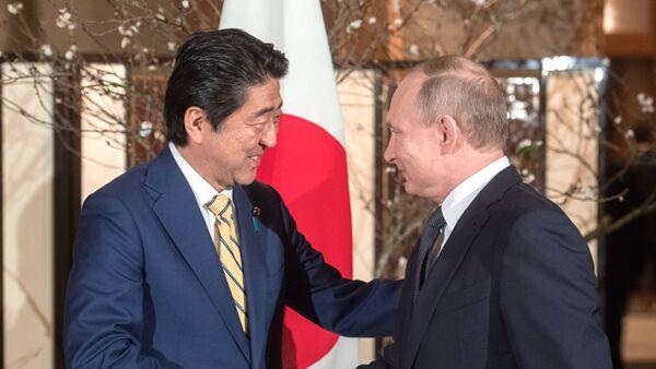 プーチン氏と安倍氏 - Sputnik 日本