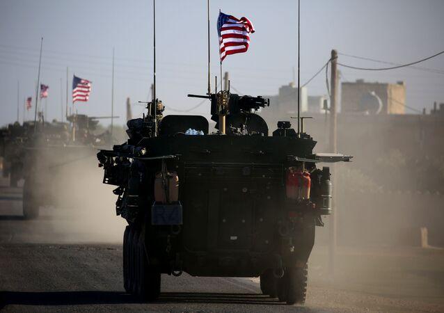 シリアで米国軍