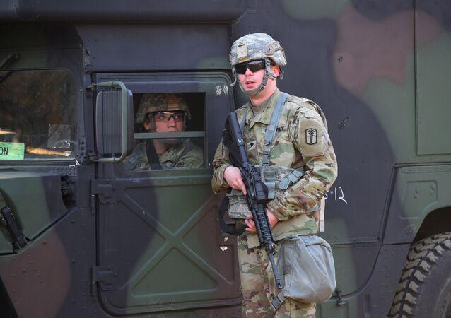 韓国でアメリカ軍(アーカイブ)