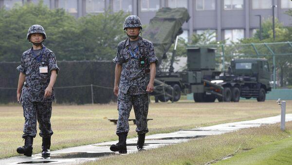日本の兵士、防衛省の隣に(アーカイブ写真) - Sputnik 日本