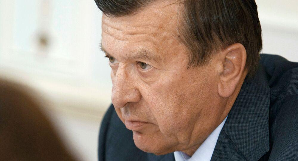 ロシア国営ガス企業「ガスプロム」取締役会のヴィクトル・ズプコフ議長