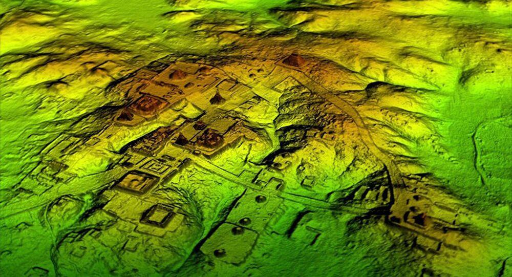 マヤ文明の建造物