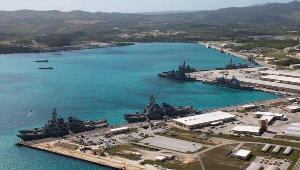 グアムで米国の海軍 - Sputnik 日本