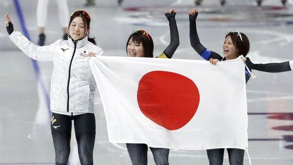 女子パシュートで日本が金メダル! - Sputnik 日本